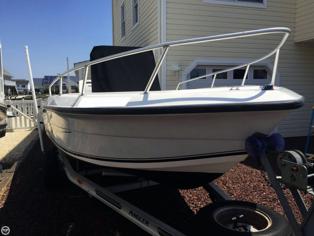 2005 used angler 180f limited edition center console for Angler fish for sale