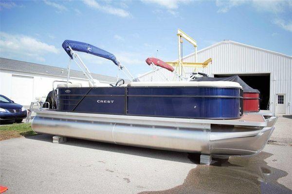 New Crest I 220 SLCCrest I 220 SLC Pontoon Boat For Sale