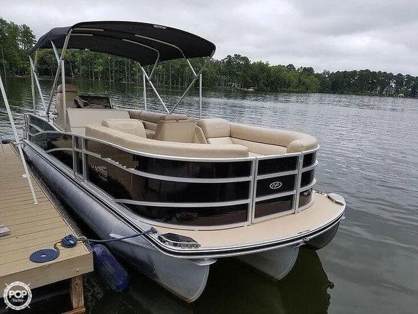 Used Harris FloteBote 250SL Pontoon Boat For Sale
