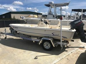 Used Scout 162162 Center Console Fishing Boat For Sale