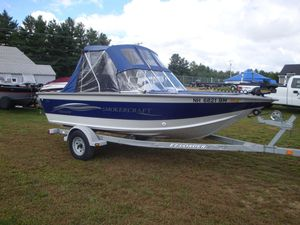 Used Smoker Craft 172 Stealth172 Stealth Freshwater Fishing Boat For Sale