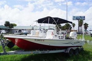 Used Blue Wave 2200 STL2200 STL Center Console Fishing Boat For Sale