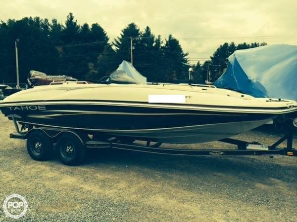 Used Tahoe 215 OB Deck Boat For Sale