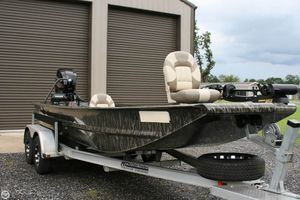 Used Custom Aluminum 20 Custom Flats Fishing Boat For Sale