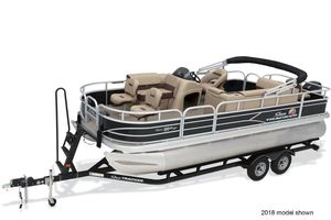 New Sun Tracker Fishin' Barge 20 DLXFishin' Barge 20 DLX Pontoon Boat For Sale