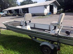 Used Alumacraft CRAPPIE JON JR. Sports Fishing Boat For Sale