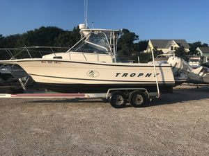 Used Bayliner 2509 Trophy Walkaround2509 Trophy Walkaround Saltwater Fishing Boat For Sale