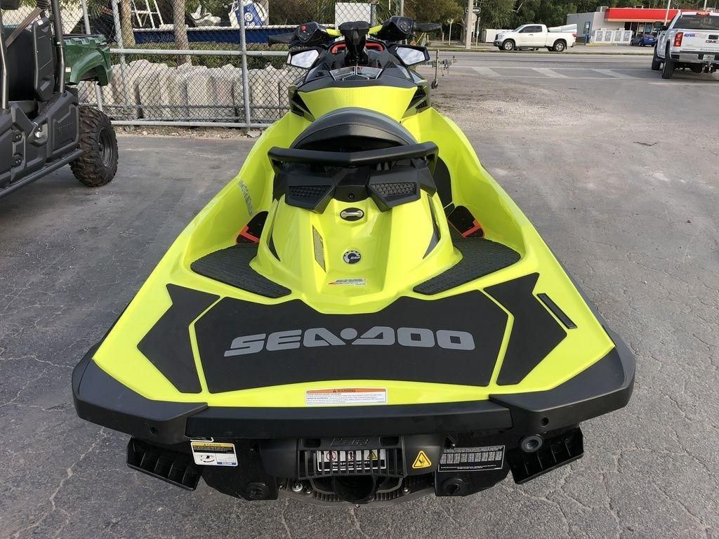 2019 New Sea-Doo RXP-X 300 Neon Yellow and Lava GreyRXP-X