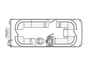 New Bennington 23 SSRCX23 SSRCX Pontoon Boat For Sale