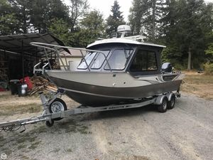 Used Duckworth 22 Pacific Pro Aluminum Fishing Boat For Sale