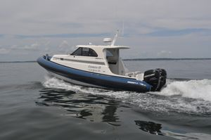 Used Ribcraft Express 32 Tender Boat For Sale