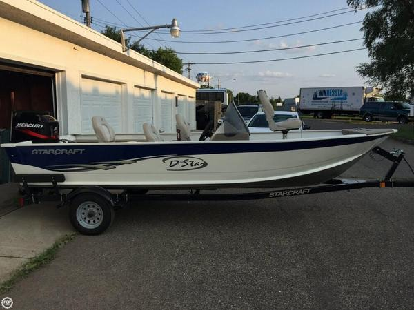 Used Starcraft D-Star 160 SC Aluminum Fishing Boat For Sale