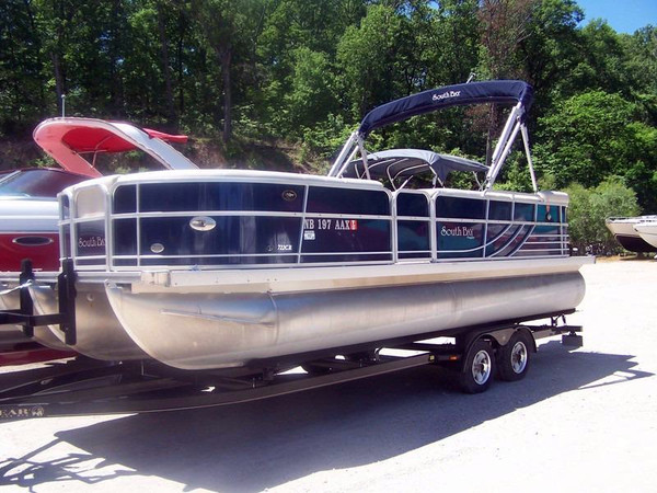 Used South Bay 722CR TT Pontoon Boat For Sale