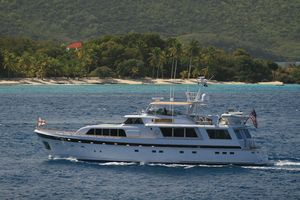 Used Cheoy Lee Raised Pilot House Motor Yacht Motor Yacht For Sale