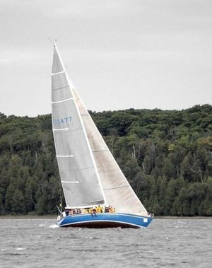Used Custom Minneford Racer and Cruiser Sailboat For Sale