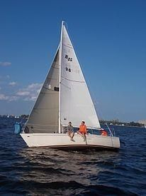 Used Mirage Yachts Kirby 25 Daysailer Sailboat For Sale