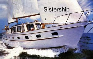 Used Island Trader Marine Trader Motorsailor Motorsailer Sailboat For Sale