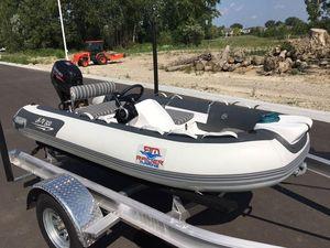 Used Raider Valor 320 Tender Boat For Sale