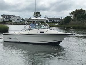 Used Trophy 2352 Walkaround Sports Fishing Boat For Sale