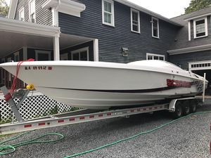 Used Wellcraft 33 Scarab High Performance Boat For Sale