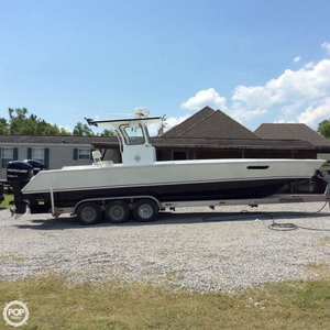 Used Custom 31 CC Center Console Fishing Boat For Sale