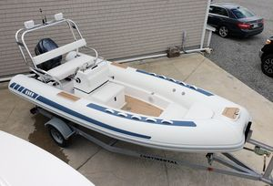 Used Novurania 550 DL 18' Center Console Fishing Boat For Sale