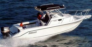 Used Angler 2400wa Center Console Fishing Boat For Sale