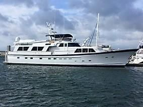 Used Burger 86' Raised Pilothouse Motor Yacht For Sale