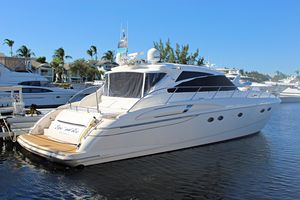Used Viking Princess V58 Express Cruiser Boat For Sale