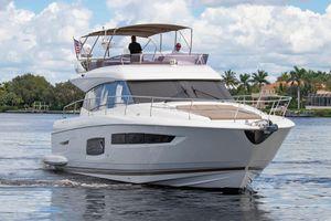 Used Prestige 550 Flybridge Cruiser Boat For Sale