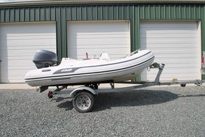 Used Ab Inflatables 11 XAZ Yamaha Four Stroke Commercial Boat For Sale