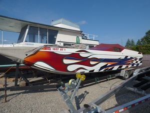 Used Mercruiser 32 High Performance Boat For Sale