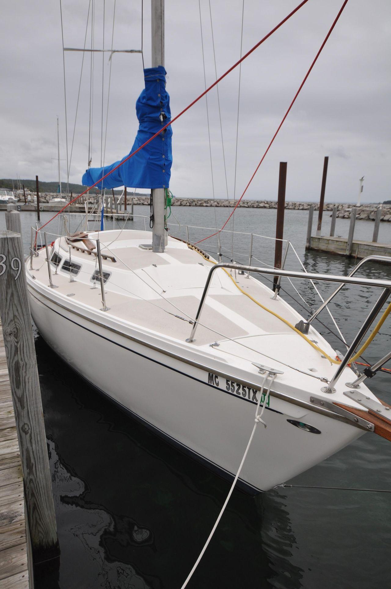 1980 Used Catalina 30 Tall Rig Racer and Cruiser Sailboat