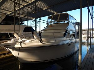 Used Carver 36 Aft Cabin Cruiser Boat For Sale
