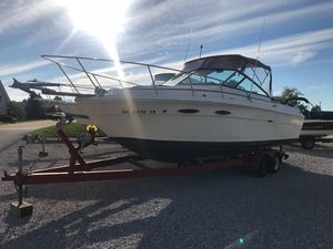 Used Sea Ray 25 Amberjack Express Cruiser Boat For Sale
