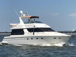 Used Carver 530 Voyager Cruiser Boat For Sale