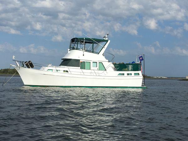 "Used Custom Trawler ""42"" Treworgy LRC Trawler Boat For Sale"