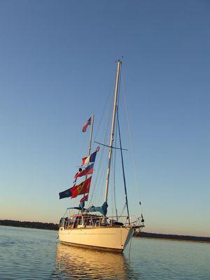 Used Nauticat 38 Motorsailer Sailboat For Sale