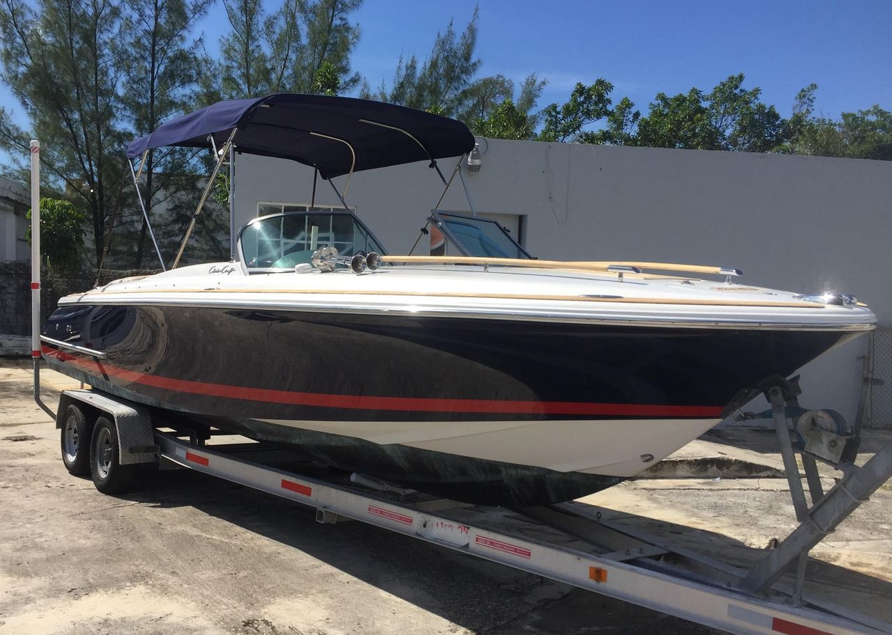 2004 used chris craft corsair 25 cruiser boat for sale 48 500 rh moreboats com Used Chris Craft Launch 25 Chris Craft Corsair 32