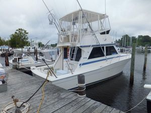 Used Viking 35 Convertible Very Clean Convertible Fishing Boat For Sale