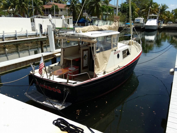 Used Perma-Craft 25 Cruiser Sailboat For Sale