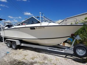 Used Seacraft Septre Cuddy Cabin Boat For Sale