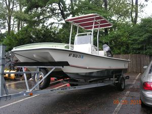 Used Twin Vee 19 Center Consol Power Catamaran Boat For Sale