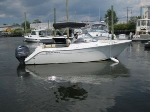 Used Cobia 220 Dual Console Cruiser Boat For Sale