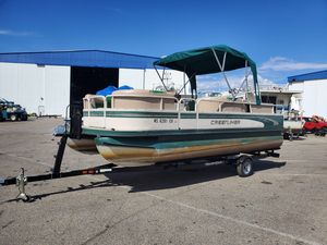 Used Crestliner 2080 Sport LX Pontoon Boat For Sale
