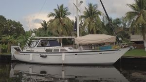 Used Gulfstar 54 Motorsailer Updated Daysailer Sailboat For Sale