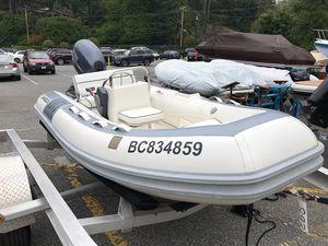 Used Novurania Rib Rigid Sports Inflatable Boat For Sale