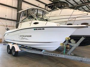 Used Seaswirl 2101 WA Striper Saltwater Fishing Boat For Sale