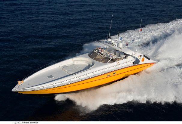 Used Shoell Marine 85 Sport Megayacht Mega Yacht For Sale