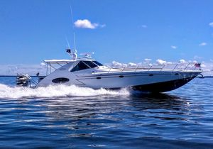 Used Infinity 56 Express BY Schoell Marine Express Cruiser Boat For Sale